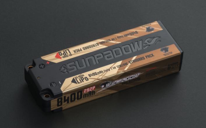 7.4V 8400mAh Lipo Battery