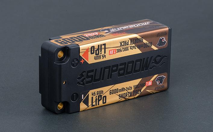 6000mAh 7.6V LiPo Battery
