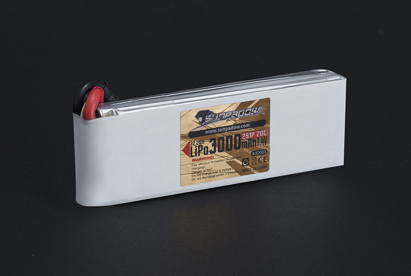 3000mAh 7.4V RC Boat Lipo Battery