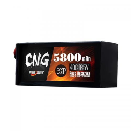 5800mAh 5S1P RC Aircraft Lipo Battery